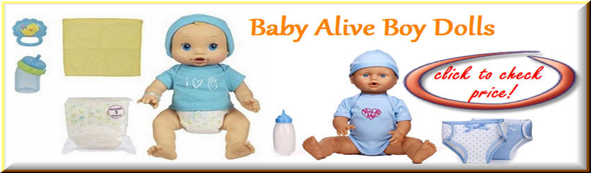 Headline for Baby Alive Boy Doll