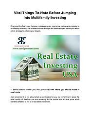 Tips For How To Invest In Real Estate - Reed Goossens