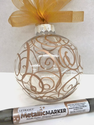 Doodle Glass Paint Marker Ornament