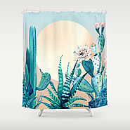 Desert Dawn Shower Curtain