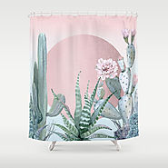 Desert Sunset by Nature Magick Shower Curtain