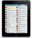 iPad Mobile App for Social Media Management - HootSuite