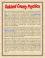 Oakland County Psychics