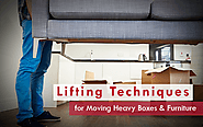 Relocation Tip for moving Heavy weight boxes and furniture