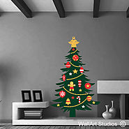 Christmas Tree Wall Art