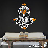 African Wall Art Stickers | Tribal Wall Art | Wall Art Studios