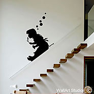 Banksy Wall Art | Banksy Wall Art Stickers | Wall Art Studios