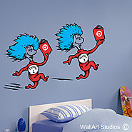 Dr Seuss Wall Art | Wall Art Stickers | Wall Art Studios UK