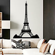 Maps and Landmarks Wall Art Stickers | Wall Art Studios