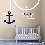 Nautical Wall Art | Wall Art Stickers | Wall Art Studios UK