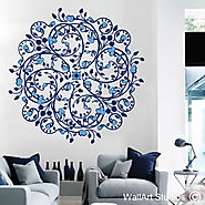 Patterns and Mandalas Wall Art | Wall Art Designs | Wall Art Studios