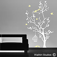 Tree Wall Art Stickers | Tree Decals | Wall Art Studios