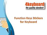 Function Keys Stickers for Keyboard - 4keyboard