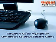 4keyboard Offers High-quality Commodore Keyboard Stickers Online