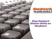Shop Keyboard Stickers Online On 4keyboard