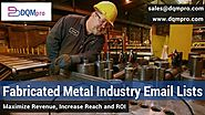 Fabricated Metal Industry Direct Email Lists