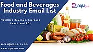 Food and Beverages Industry Email List