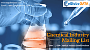 Get in Touch with Your Target Audiences with eGlobeData's Chemical Industry Marketing List
