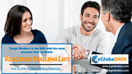 Discover New Markets & Establish Communication by Using Realtor Email Database – eGlobeDATA