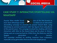 7 WHATSAPP MARKETING CASE STUDIES SMALL BUSINESSES CAN LEARN FROM on Vimeo
