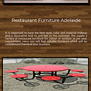 Improve hospitality and sporting club furniture