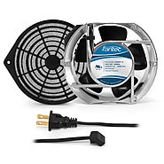 172mm Cabinet Cooling Fan Kit, Filter and Cord 120v CAB708