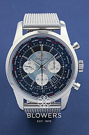 Breitling Transocean Unitime Chronograph AB0510
