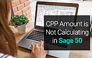CPP Amount is Not Calculating in Sage 50 - How to fix - + 1-844-313-4854