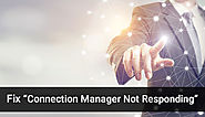 "Sage 50 ""Connection Manager Not Responding"" Issue - +1-844-313-4854"