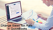 How to Change Sales Tax Rate in QuickBooks +1-844-313-4854