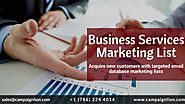 Business Services Marketing List