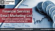 Financial Services Email Marketing List