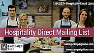 Hospitality Direct Mailing List