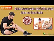 Herbal Osteoarthritis Relief Oil for Better Joints and Bone Health