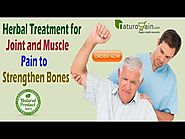 Herbal Treatment for Joint and Muscle Pain to Strengthen Bones