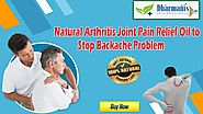 Natural Arthritis Joint Pain Relief Oil to Stop Backache Problem