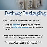 Why Choose A Local Sydney Packaging Company?