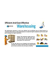 Efficient And Cost Effective Warehousing -Hoxton Industries