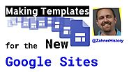 How to Make New Google Sites Templates