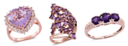 Varieties of Amethyst rings