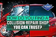The Steps in Auto Collision Repair in San Fernando Valley