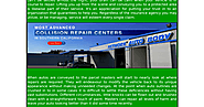 Getting The Best Collision Repair in Santa Clarita