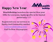 WealthBuildup launches the special New year Offer for everyone, hurry up offer is for limited period only !!!!!