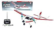 Super Sonic RC Model Airplane R/C 9399 Training Plane ARF Radio Control Aircraft