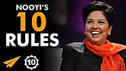 """The BOLDER We Can Be, The BETTER!"" - Indra Nooyi (@IndraNooyi) - Top 10 Rules"