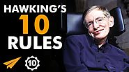 Stephen Hawking's Top 10 Rules For Success