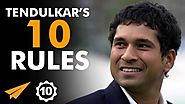 Sachin Tendulkar's Top 10 Rules For Success