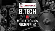 B.Tech in MECHATRONICS ENGINEERING