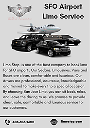 Book Limo Service for SFO Airport
