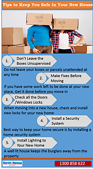 Are You Moving Into a New House?